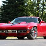 Classic and Powerful Karl Kustom Corvettes