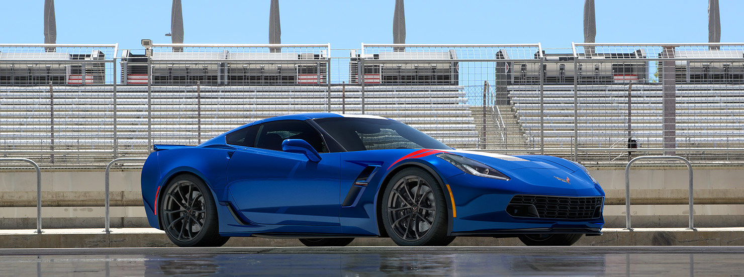 The Legendary Racer - 2017 Chevrolet Corvette Grand Sport