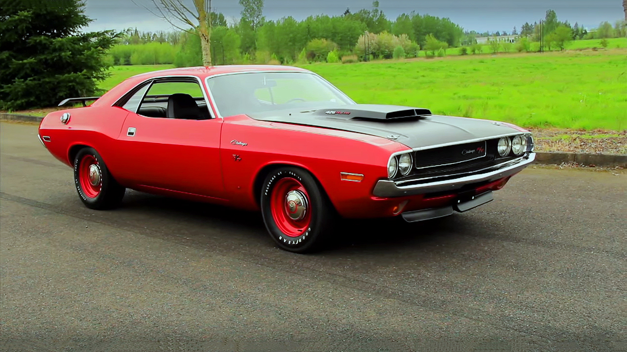 Very Rare 1970 Dodge Challenger R T 426 Hemi With N94 Hood