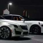 Speed Battle – 2015 Dodge Charger Hellcat VS 2016 Cadillac CTS-V
