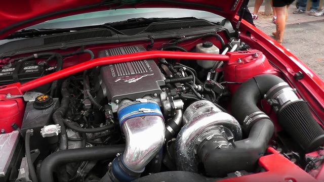 2005 Ford Mustang Shelby GT500 Eleanor Engine