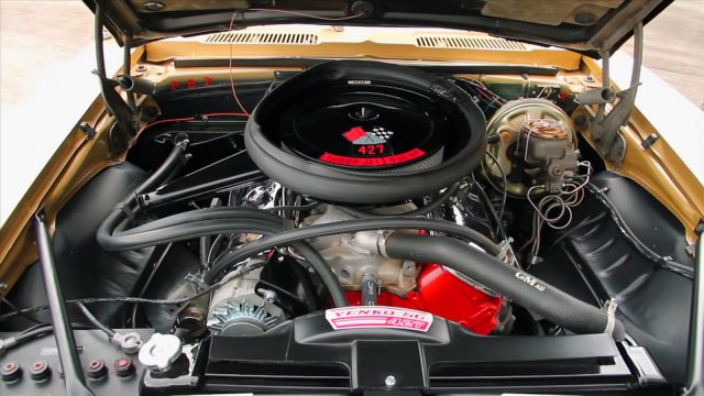 1969 Chevrolet Yenko Camaro Super Car 427 Engine