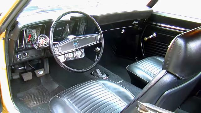 1969 Chevrolet Yenko Camaro Super Car Interior