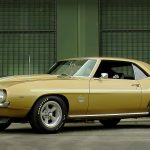Super Rare Olympic Gold 1969 Chevrolet Yenko Camaro
