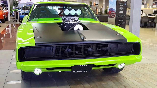 Check This Super Cool 1968 Dodge Charger 526 Blown Hemi