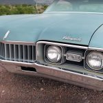 Cruising With Beautiful 1968 Oldsmobile Cutlass