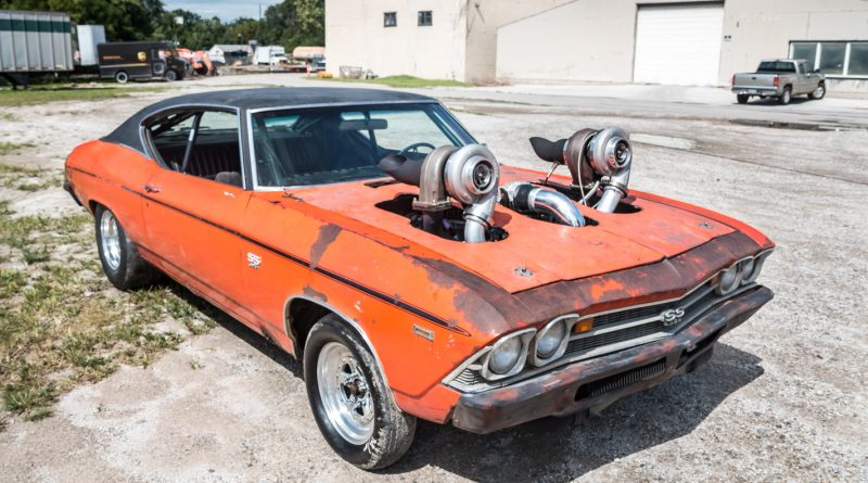 Twin Turbo 1969 Chevrolet Chevelle 396 SS Pro Street
