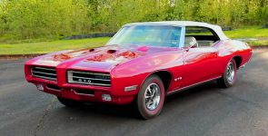 High Luxury 1969 Pontiac GTO 400 Ram Air IV Convertible