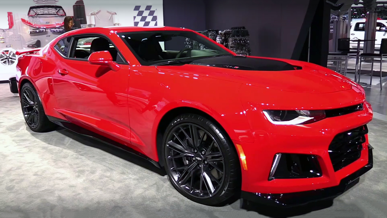 The Powerful 2017 Chevrolet Camaro ZL1
