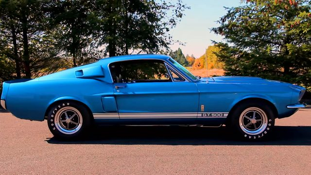 1967 Shelby Mustang GT500 side