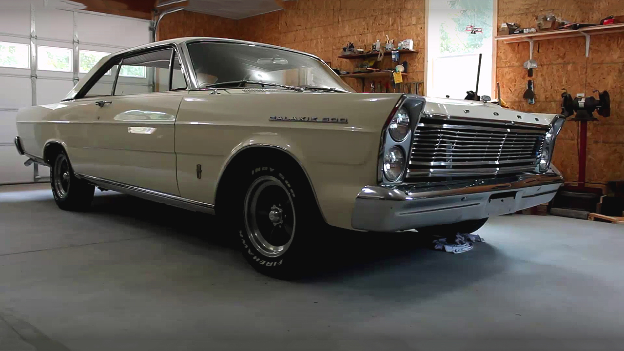 Check This Bad To The Bone 1965 Ford Galaxie 427