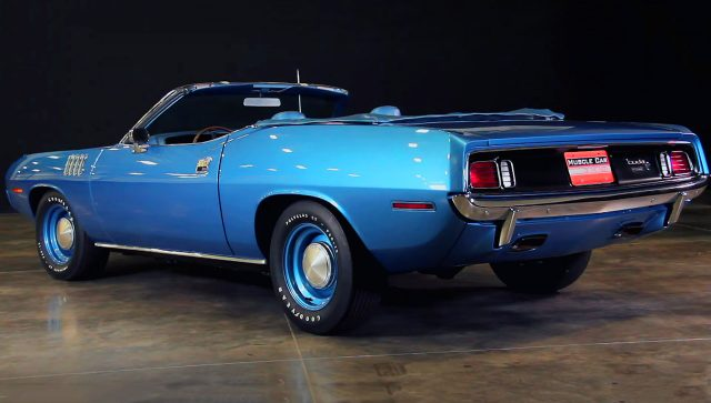 1971 Plymouth Hemi Cuda Convertible 4-Speed