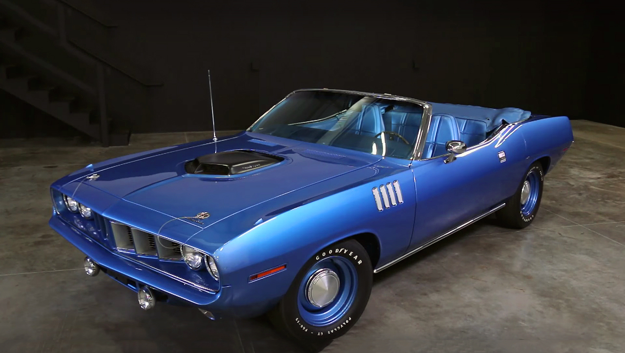 The Most Famous Mopar Ever - 1971 Plymouth Hemi Cuda Convertible