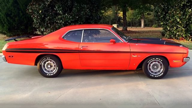 The Original 1971 Dodge Demon 340 In Factory Hemi Orange