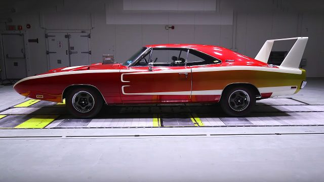 1969 Dodge Charger Daytona and his 200 Mph Aero Package