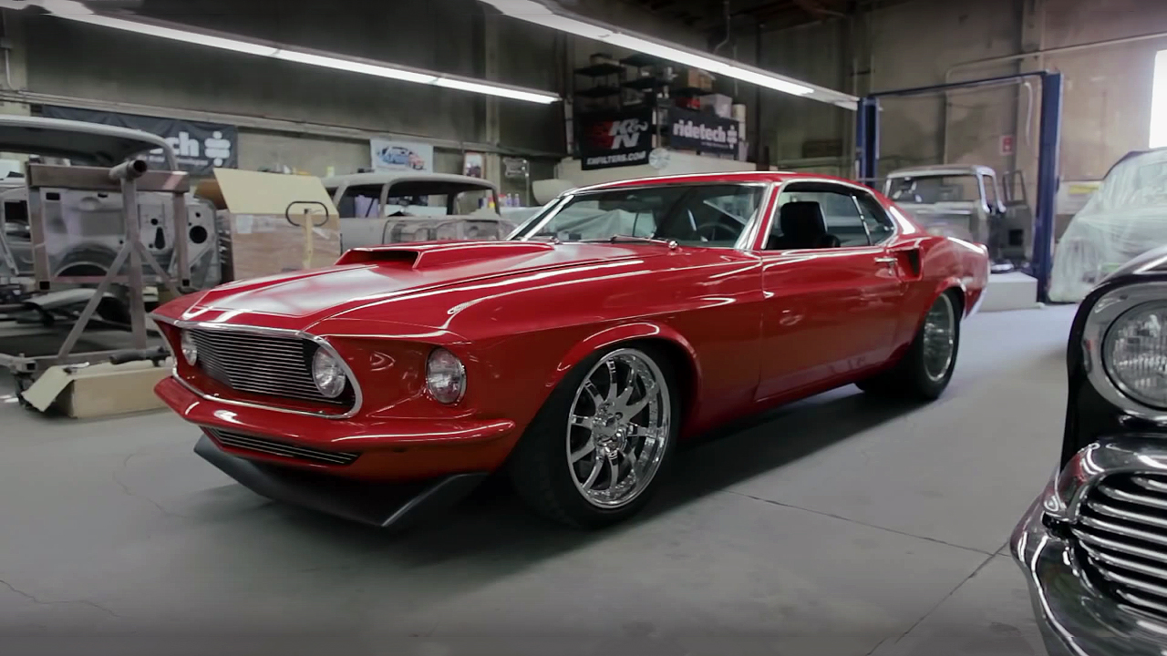 Extremely Rare and Powerful 1969 Ford Mustang 494 Boss Fastback