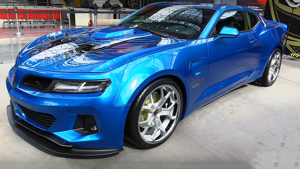 The New  2017 Trans Am 455 Super Duty In Details