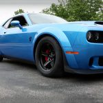Check This Gorgeous B5 Blue 2018 Dodge Challenger SRT Demon