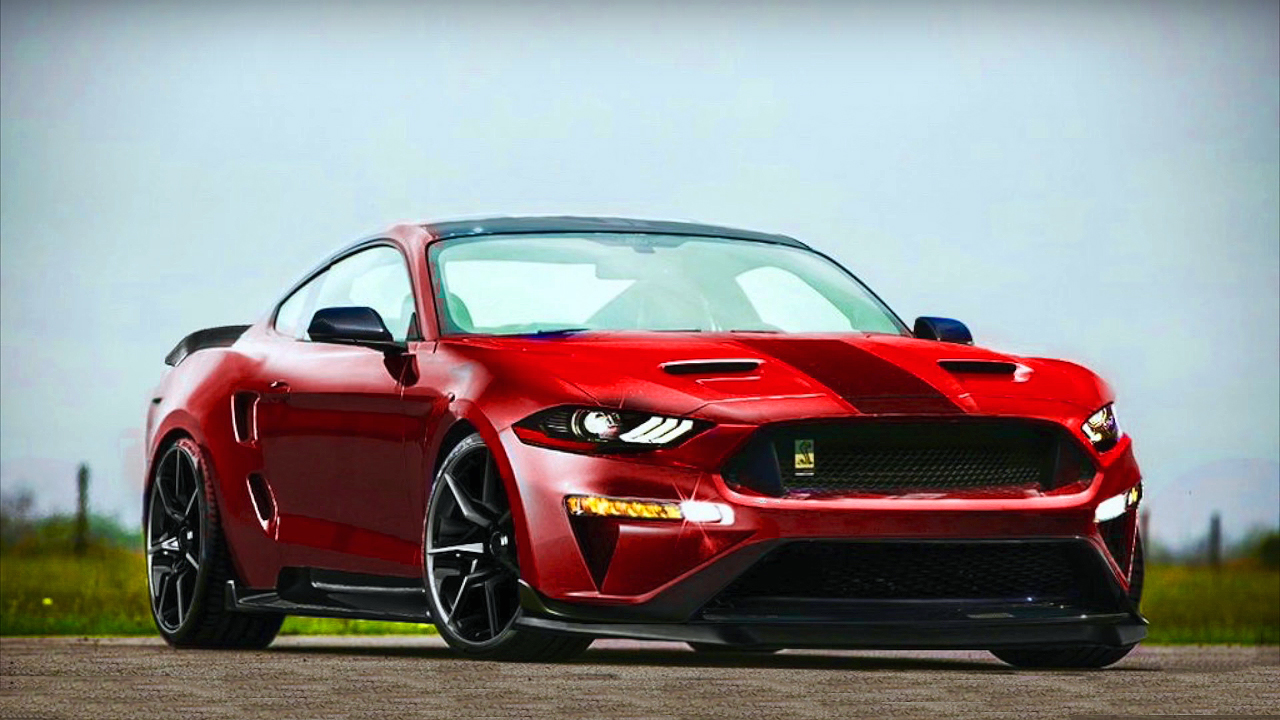 This Could Be The New Twin-Turbo 2018 Shelby Mustang GT500