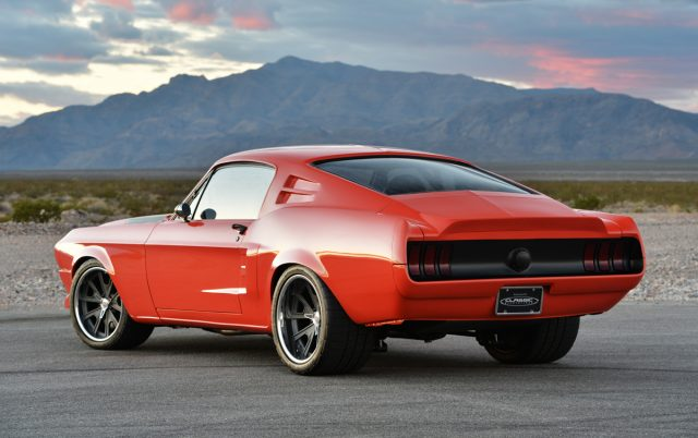 The Villain - Astonishing 1968 Ford Mustang Fastback by CR Supercars