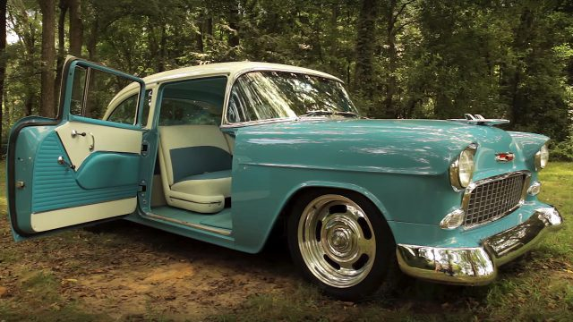 Stunning V12 Powered 1955 Chevrolet Bel Air