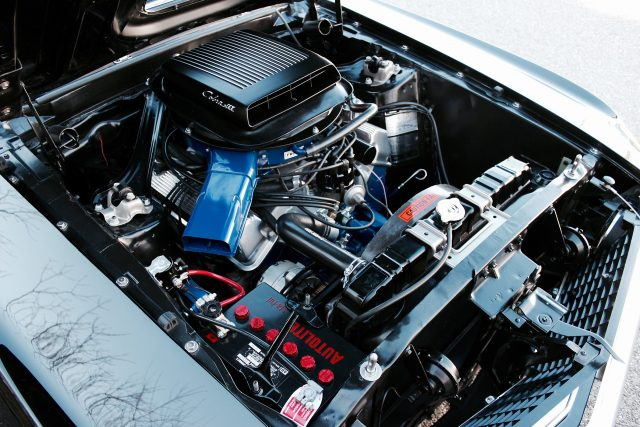 1969 Ford Mustang Mach 1 428 Cobra Jet Ram Air Engine