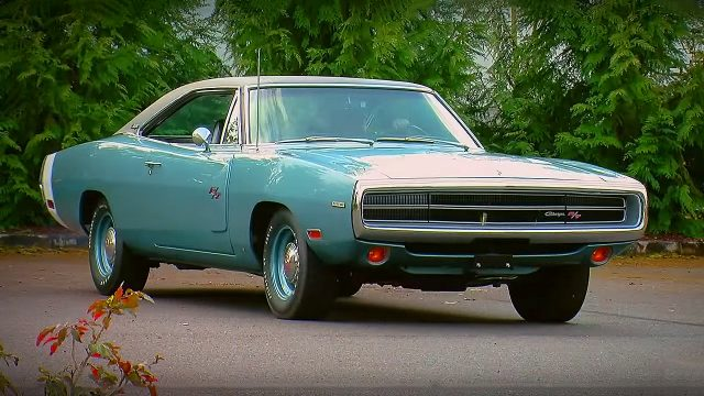 EB3 Light Blue Metalic 1970 Dodge Charger R/T 426 Hemi
