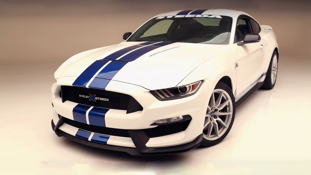 Win this Experimental and Unique 875HP Shelby Mustang GT350X