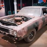 Check this Super Cool 1969 Dodge Charger 500 Barn Find