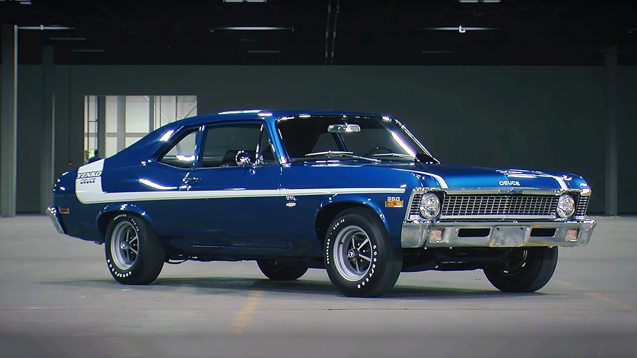 Ford Performance Cars >> Ultra Rare and Powerful 1970 Chevrolet Nova Yenko Deuce