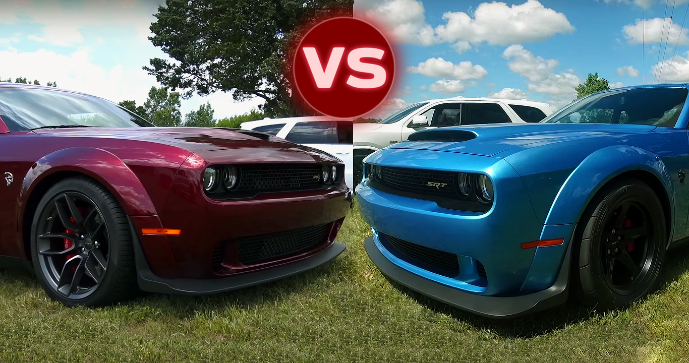2018 Dodge Demon vs Hellcat Challenger - Major Differences