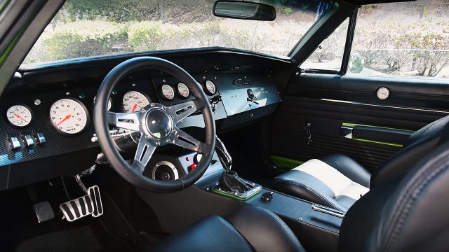 Viper V10 Powered 1968 Dodge Charger SRT10 Interior