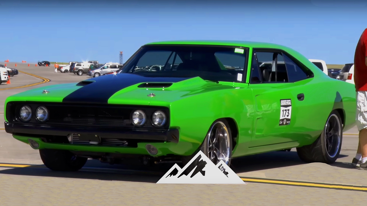 Watch this 1968 Dodge Charger goes Ballistic with 150 mph