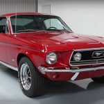 Mesmerizing 1968 Ford Mustang GT 390 Fastback S-code