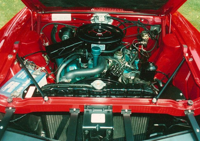 1969 AMC Javelin HO 290 SST Engine