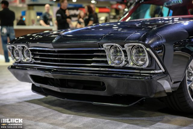 Iconic 1969 Chevrolet Chevelle Slammer Concept by Chevrolet Performance