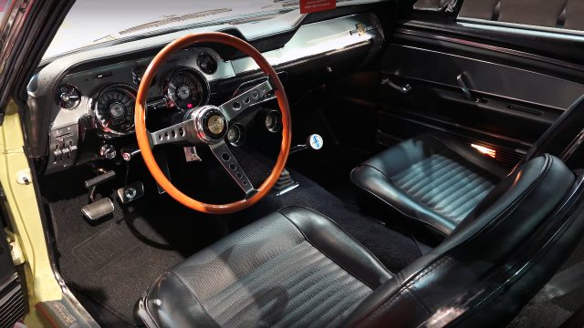 1967 Shelby Mustang GT500 Fastback Interior