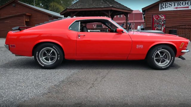 1970 Ford Mustang Boss 572