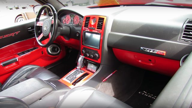 Modified 1968 Dodge Charger SRT HEMI Interior