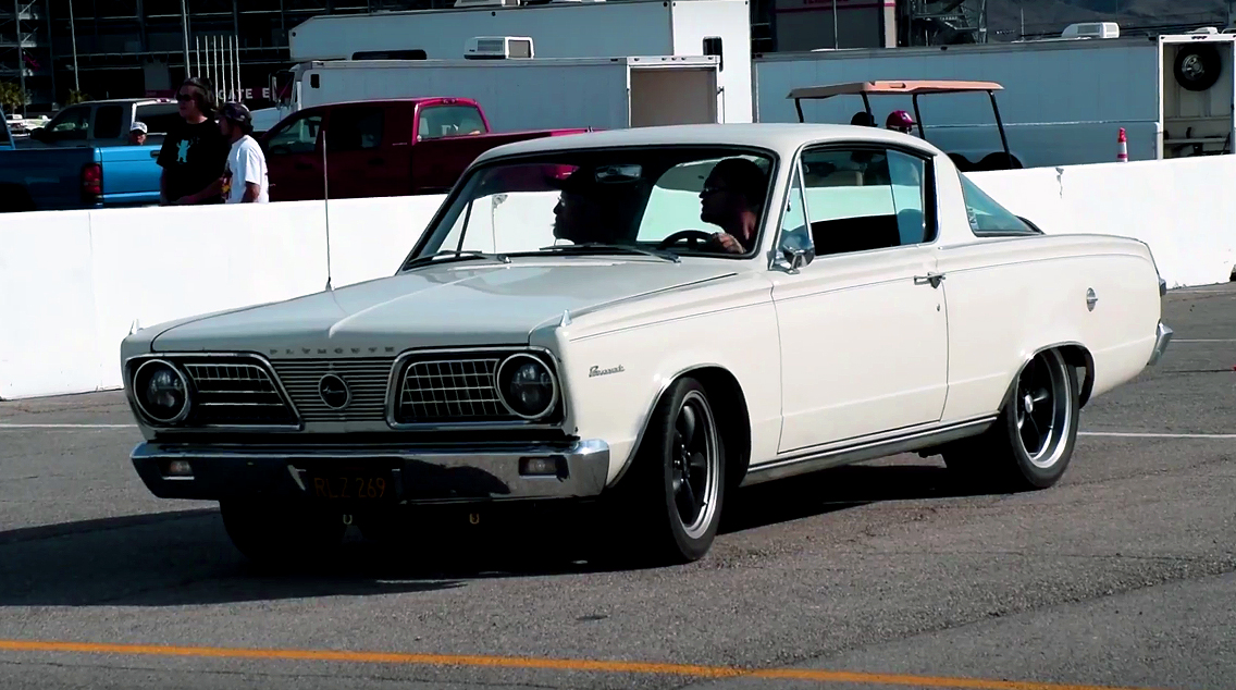 Check this Fierce 1966 Plymouth Barracuda Gen-III 426 Hemi