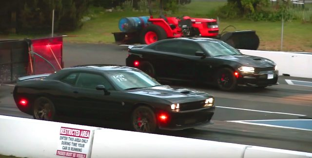 Hellcat Charger against Hellcat Challenger