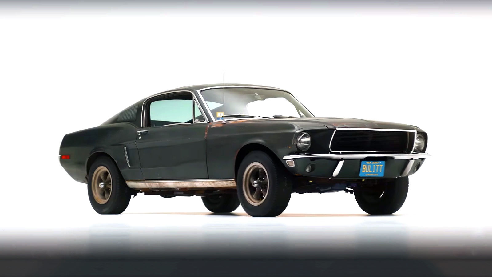 steve mcqueen s bullitt mustang 02 mcd. Black Bedroom Furniture Sets. Home Design Ideas