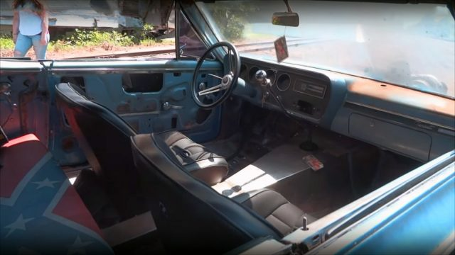 Turbocharged Cummins 1966 Pontiac Tempest Interior