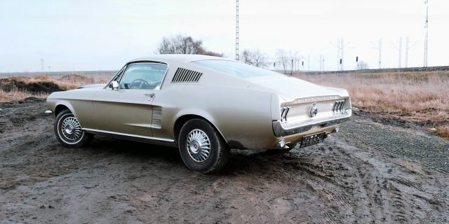 1967 Ford Mustang S Code Fastback