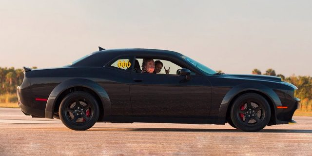 2018 Dodge Demon hit 203 MPH In 60 Seconds