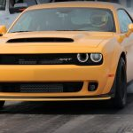 Dodge Demon 1/4 Mile Time with Hennessey Behind the Wheel