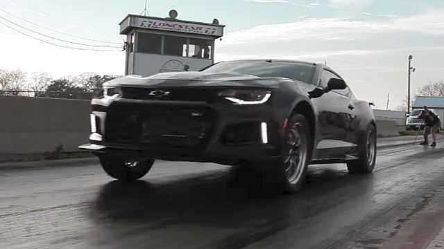 The Exorcist Camaro Runs 9 Seconds 1/4 mile – Find Out More !