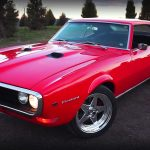 Beautifully Restored 1968 Pontiac Firebird 400 Ram Air II