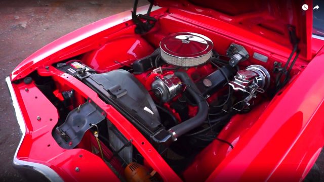 1968 Pontiac Firebird 400 Ram Air II Engine
