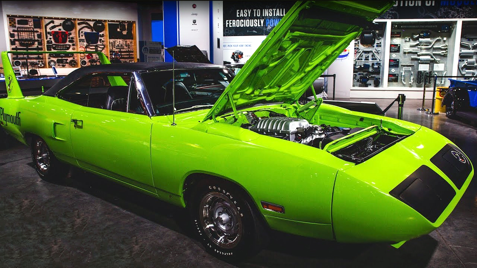 Breathtaking Hellcat Powered 1970 Plymouth Superbird by Graveyard Carz